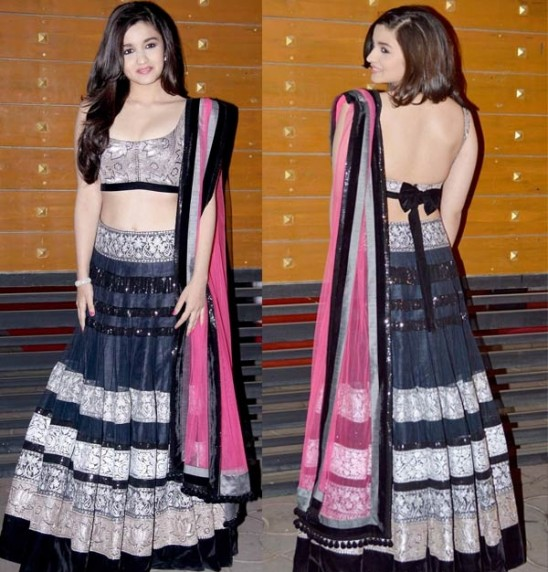 Latest Lehenga saree