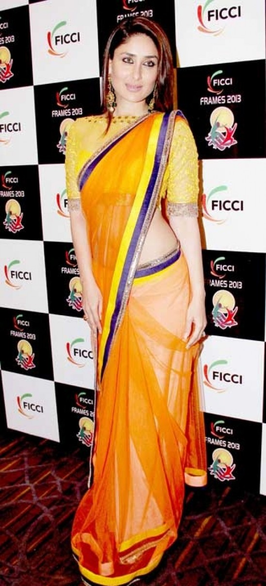 Tips To Party Wear Saree To Look Slim