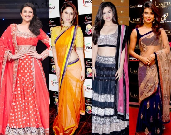 Manish Malhotra birthday special: 7 best looks of 2013 by the Party wear saree